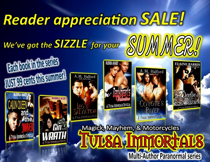 TI Reader apprec sale 6 covers Magick, mayhem & motorcycles