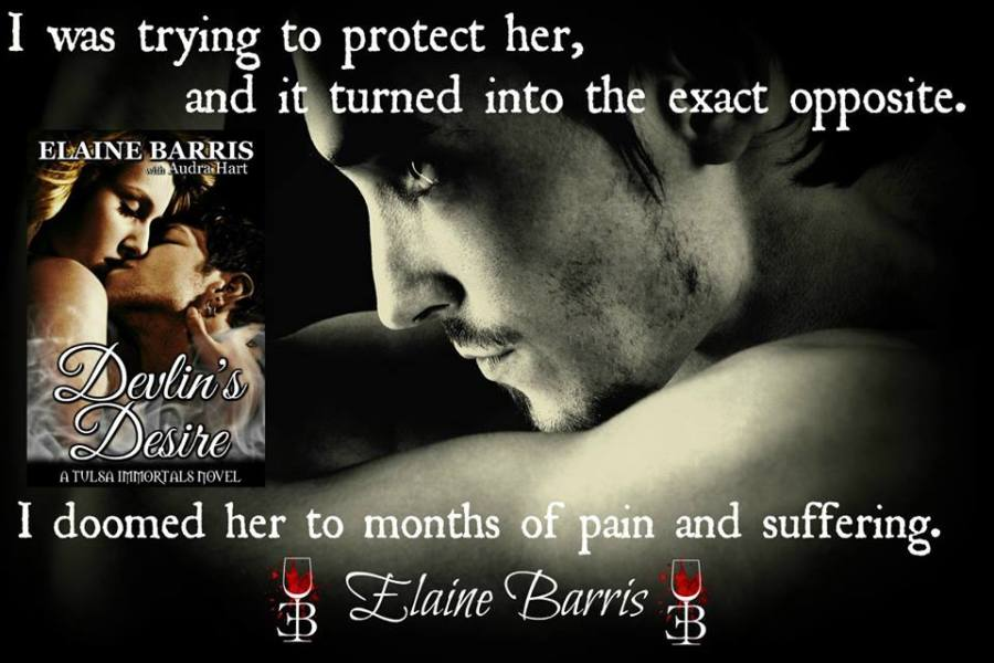 EB promo for Devlin's Desire I doomed her months of pain