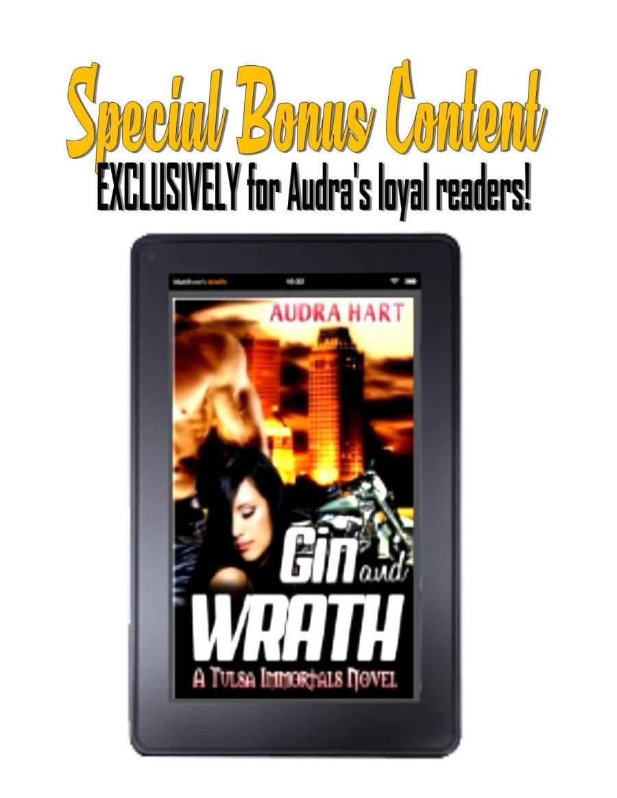 Bonus Content Cover for GIN & WRATH