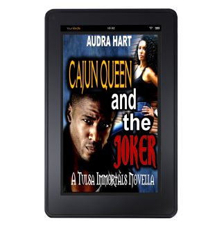 Book 1 - Cajun Queen and the Joker kindle mock up