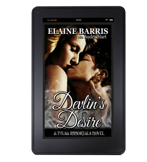 Devlin's Desire Kindle mock up