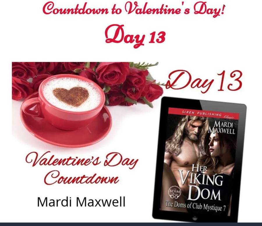 Mardi's Countdown to Valentines Day