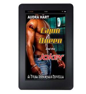 Cajun Queen and the Joker Kindle Mock up