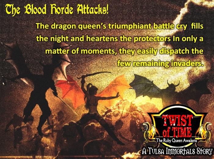 Dragon Queen's triumphant battle cry