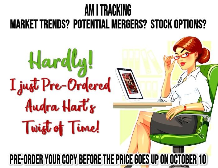 00 Twist Promo - Business woman comic pre-order graphic