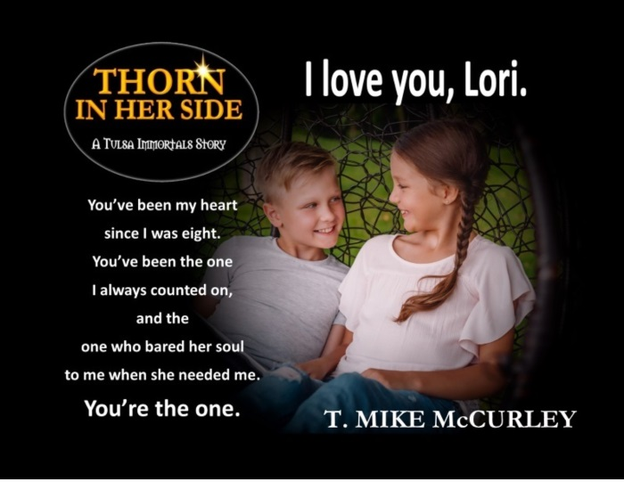 05 Thorn teaser - you're the one since I was eight w black frame