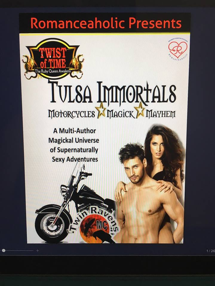 Romanceaholic Tulsa Immortals Spotlight cover