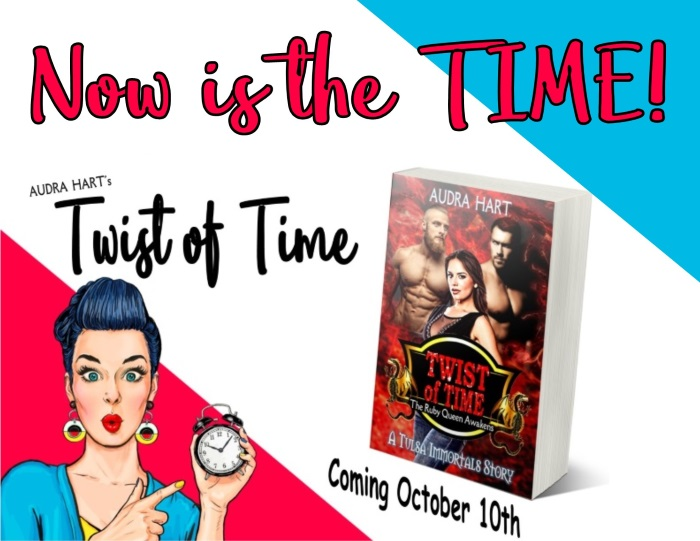 TWIST - Now is the time teaser - release day (blog)