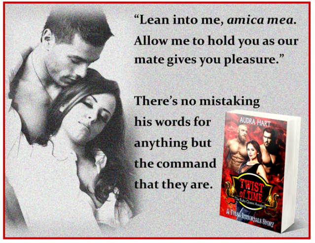Twist of Time teaser - Lean into me, Amica Mea