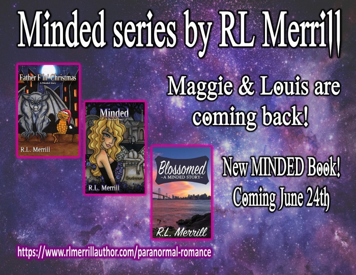 Minded SEries by RL Merrill new minded book coming june 24