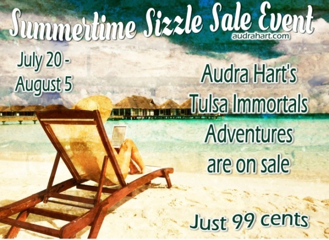 Summertime Sale Event graphic Jul6 21 through August 5