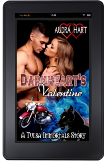 DarkHeart's Valentine kindle mock up