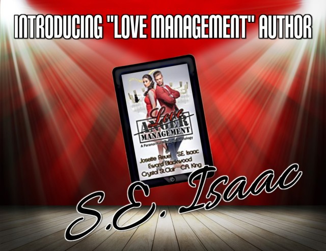 Love Management spotlight author SE Isaac