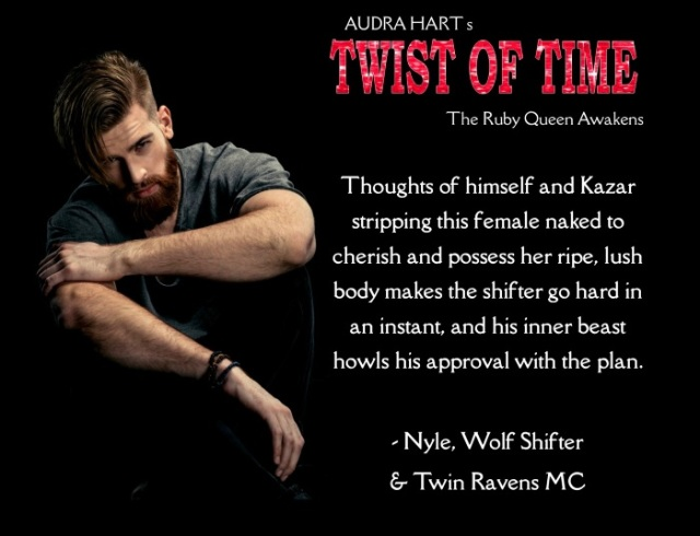 Twist of Time - thoughts of the female between Nyle & Kazar