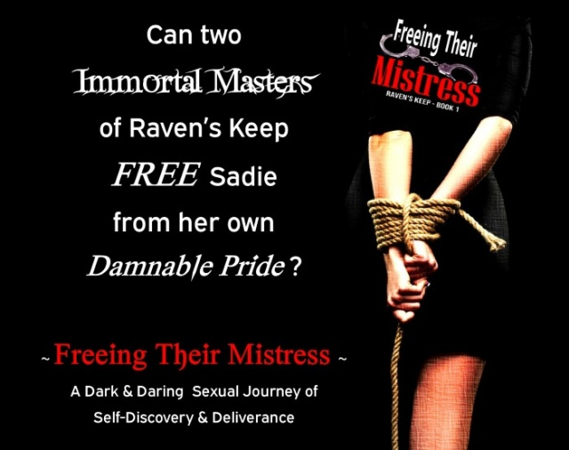 FTM teaser - two Immortal Masters - woman bound w rope