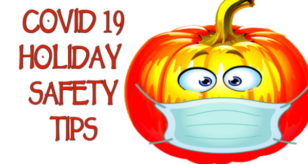 COVID HALLOWEEN SAFETY TIPS for Twitter