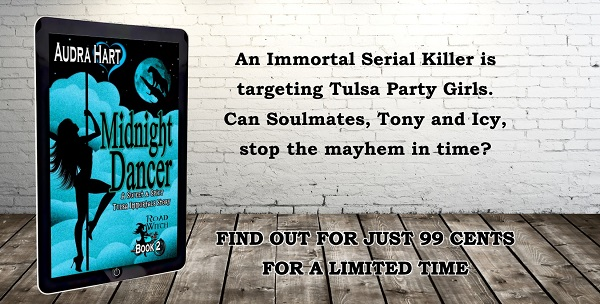 MIDNIGHT DANCER - Tag line - find out for 99 cents LIMITED TIME